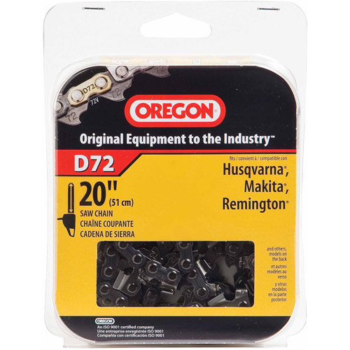 "Oregon Chain D72 20"" Premium Vanguard Saw Chain"