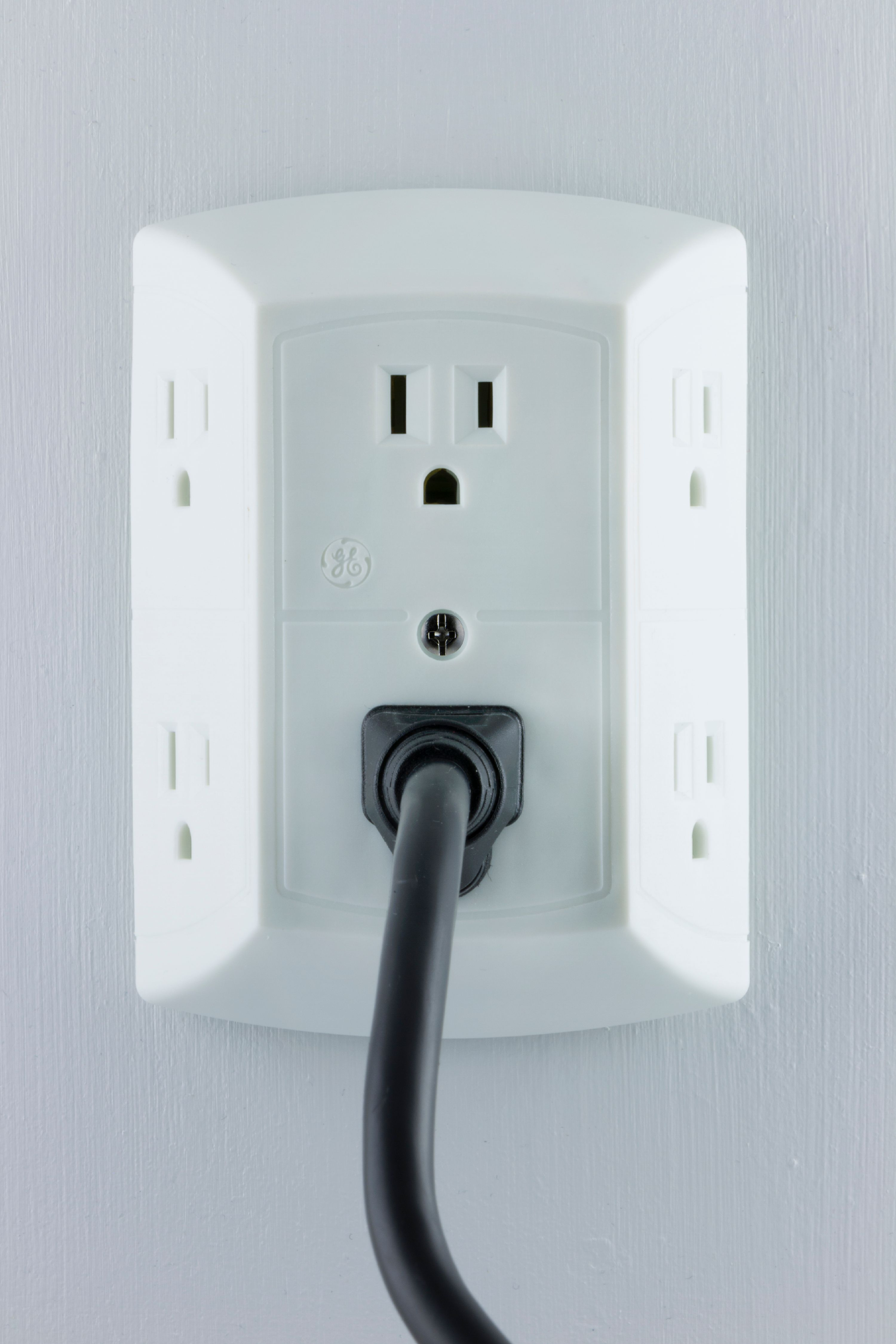 GE Grounded Adapter-Spaced 6-Outlet Tap, 50759 - Walmart.com