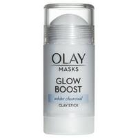 Olay Pore Detox Black Charcoal Clay Face Mask Stick, 1.7 oz
