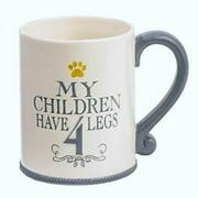 """""""My Children Have 4 Legs"""" Mug By Grasslands Road"""