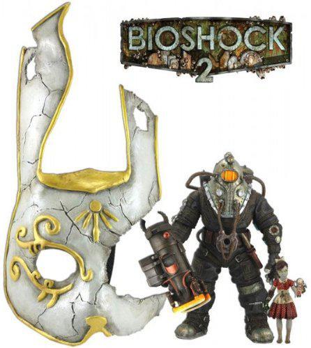 Neca Bioshock 2 Subject Omega & Little Sister Action Figu...