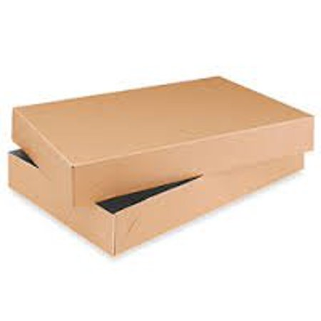 Wrapping Boxes (Men Shirt Box Women Top Box Gift Boxes Wrap Boxes Apparel Gift Boxes with Lids 10 Pack (Kraft)