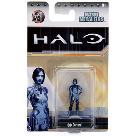 Halo Nano Metalfigs Cortana Diecast Figure