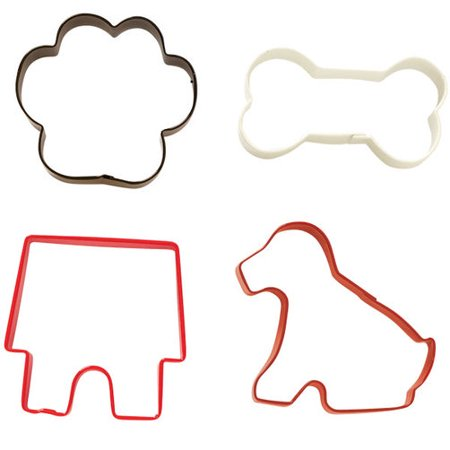 Ribbon Shaped Cookie Cutter (Wilton Pet Cookie Cutter Set,)