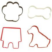 wilton pet cookie cutter set 4 piece