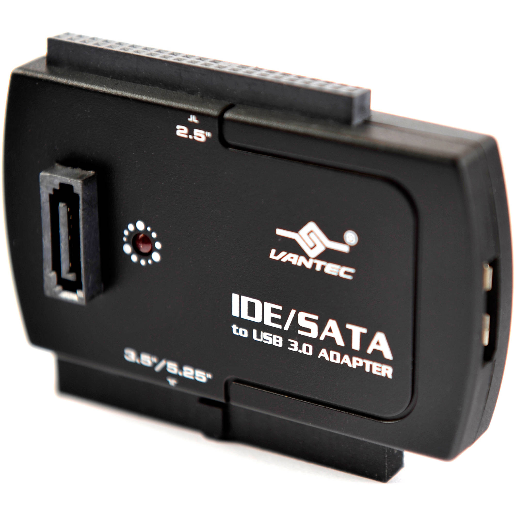 Vantec cb isa200 u3 nexstar sata ide to usb 3.0 adapter, black ...