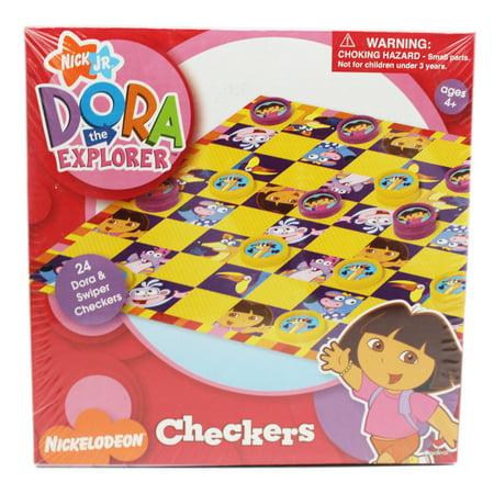 Dora the Explorer Swiper and Dora Kids Checkers Set