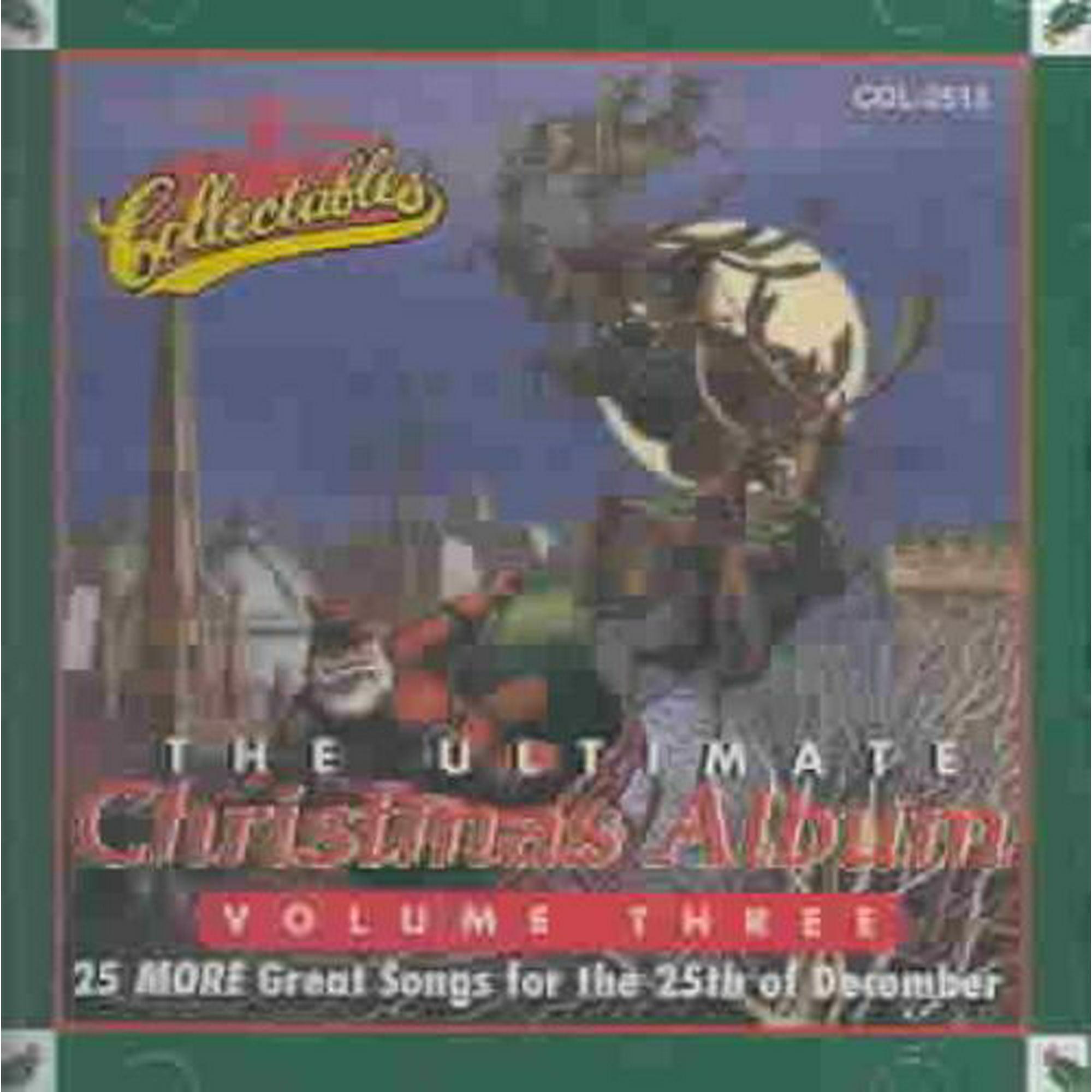 Chance Christmas Album.Various Artists The Ultimate Christmas Album Vol 3 Cd
