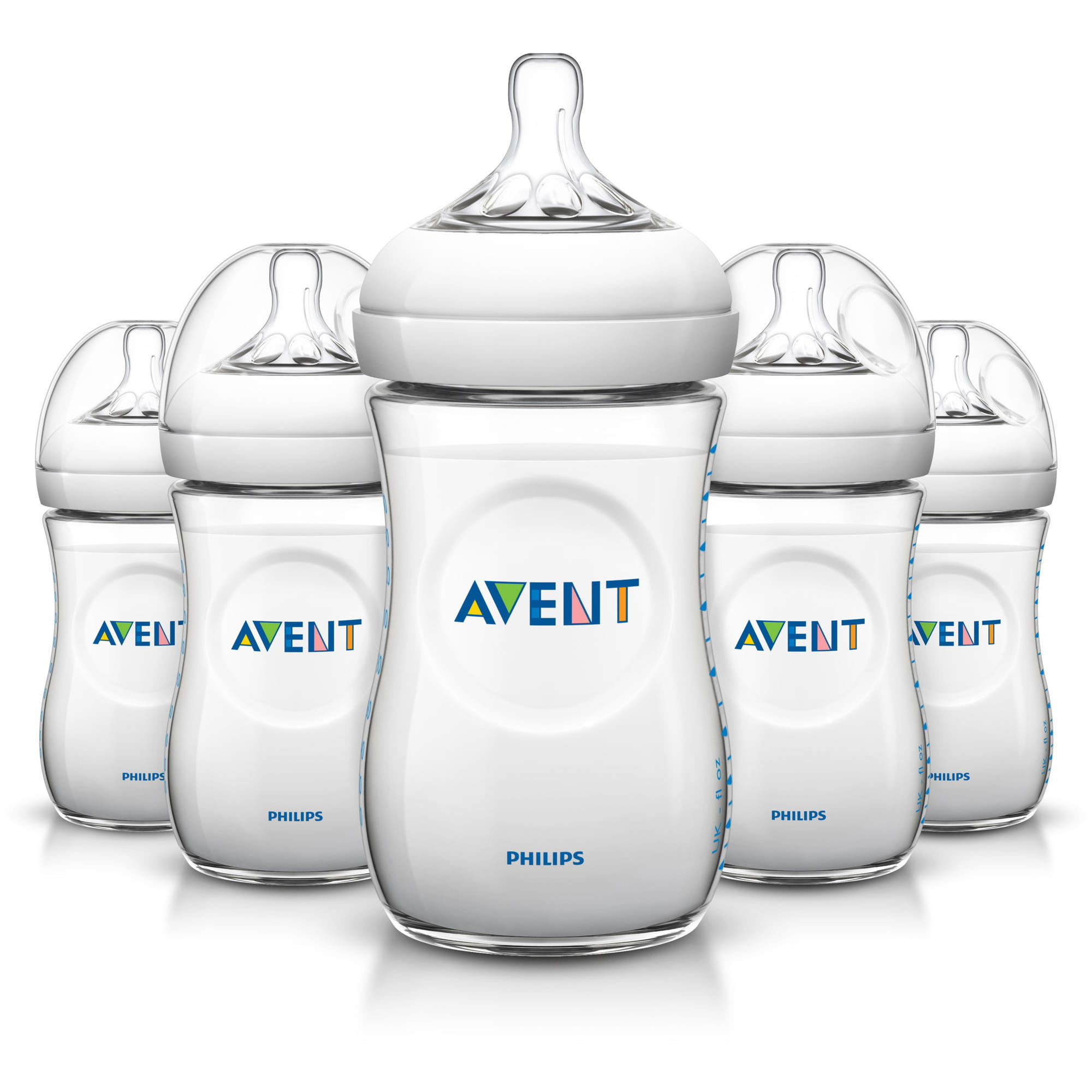 Philips Avent BPA Free Natural Baby Bottles, 9 Ounce, 5 Pack by Philips AVENT