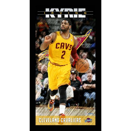 (Cleveland Cavaliers Kyrie Irving Player Profile Wall Art 9.5x19 Framed Photo)
