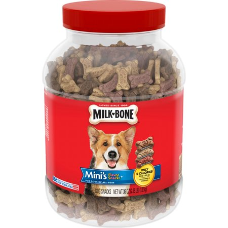 Milk-Bone Mini's Flavor Snacks Dog Biscuits,