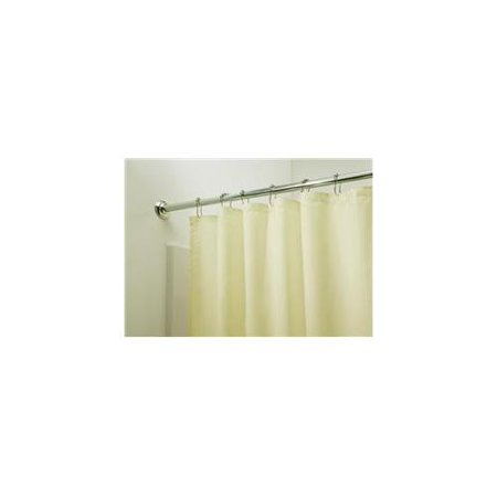 Carnation Home Fashions Sc Fab 78 08 Extra Long 100 Fabric Shower Curtain Liner Ivory