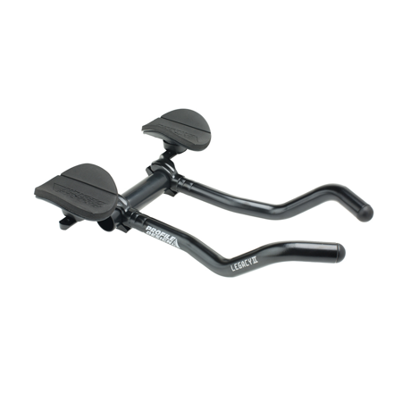 - Profile Design Legacy II Alloy Aerobar w/ Arm Rests 26.0mm - 31.8mm Matte Black