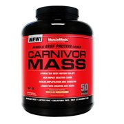 Best Anabolics - MuscleMeds Carnivor Mass Anabolic Beef Protein Gainer, Chocolate Review