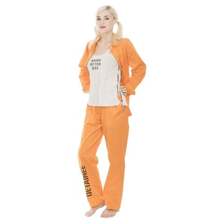 Suicide Squad Harley Quinn Bravo Detainee 3 piece Womans Costume Set - Local Cosplay Stores
