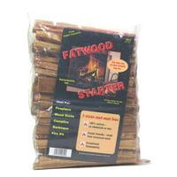 Dagan Fatwood Firestarter in a Poly Bag, 4 Pounds