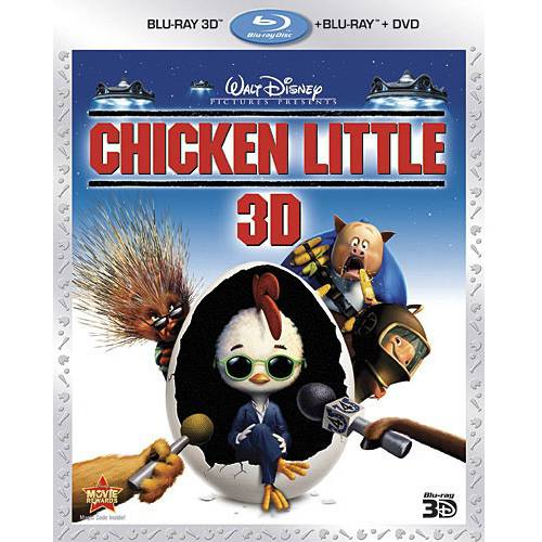 Chicken Little (Blu-ray 3D + Blu-ray + DVD) (Widescreen)