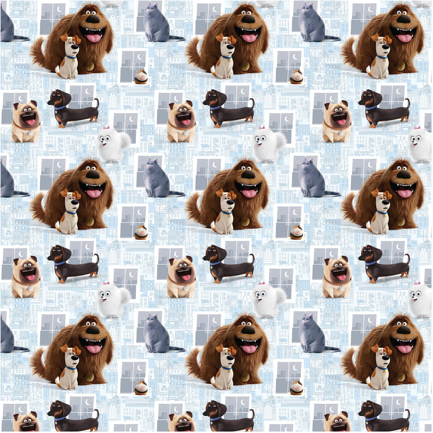 The Secret Life of Pets Wrapping Paper