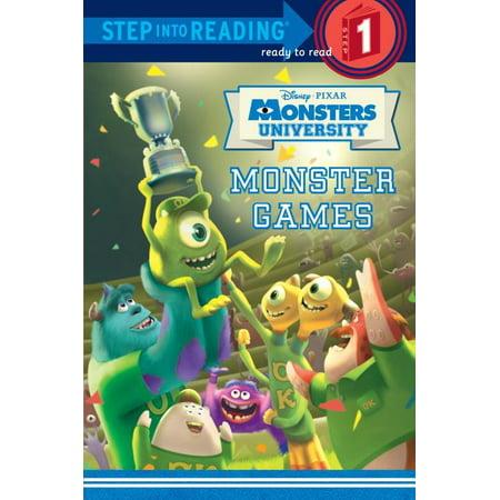 Monsters University Halloween Games (Monster Games (Disney/Pixar Monsters)