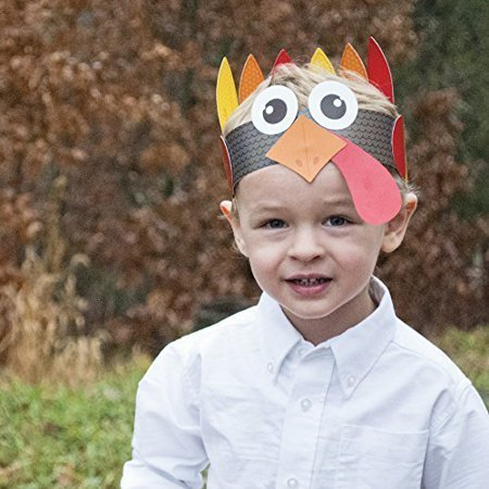 Thankful Turkey Hat - Thanksgiving Party Craft for Kids - Thanksgiving Hat - Thanksgiving Craft For Kids