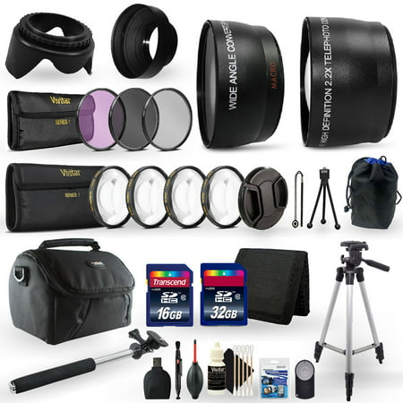 All in One Ultimate Accessory Kit for Canon EOS Rebel T3i Digital SLR Camera