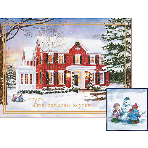 "Lang ""Peaceful Evening"" Deluxe Boxed Christmas Cards"