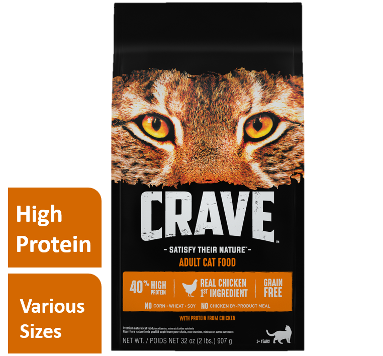 Crave Grain-Free Chicken Dry Cat Food