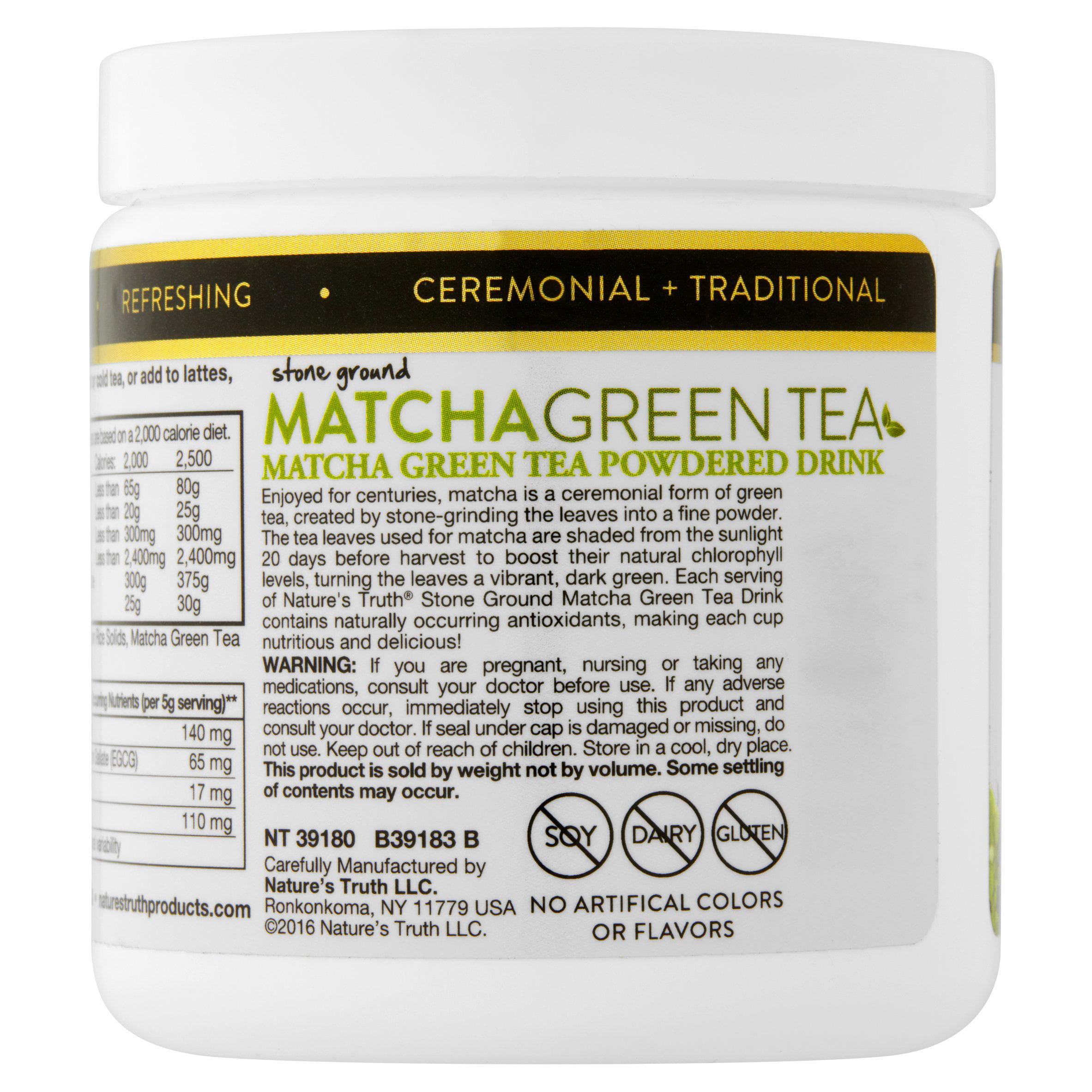Nature's Truth Matcha Green Tea Powder, 4 0 Oz