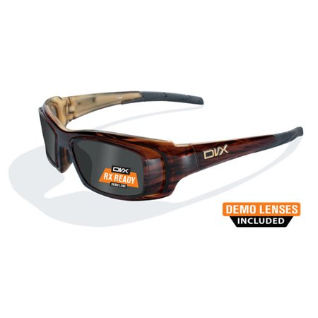 3b562c9a7da8 Wiley X - DVX Oculus Rx-able Sun + Safety Sunglasses, Layered Tortoise -  Walmart.com