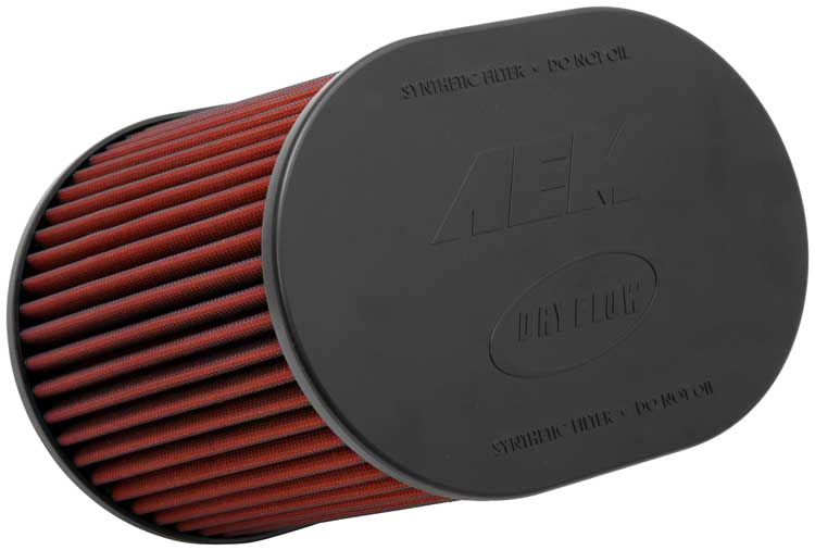 """RED UNIVERSAL 3.5/"""" BIG 9/"""" FLANGE DRY AIR FILTER FOR CHEVY SHORT//COLD AIR INTAKE"""