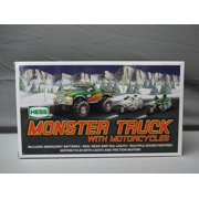 2007 Monster Truck w  2 Motorcycles, By Hess by