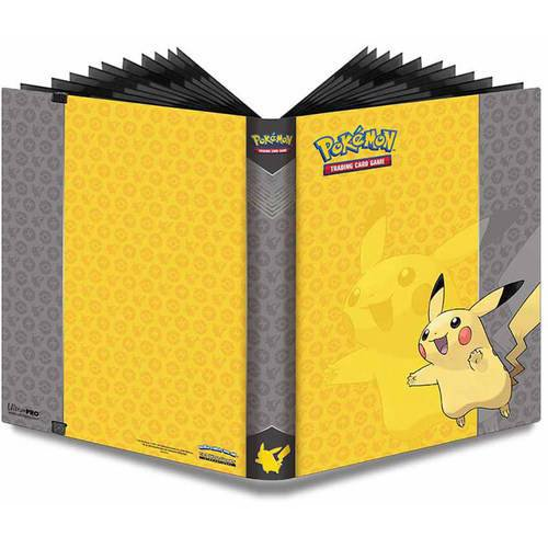 Ultra Pro 9-Pocket Pokemon Full-View Pro Binder, Pikachu