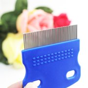 Cat Dog Puppy Grooming Steel Small Fine Toothed Pet Flea Comb New