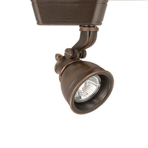 WAC Lighting 75W Caribe MR16 with Lens Antique Bronze J Series Track Head