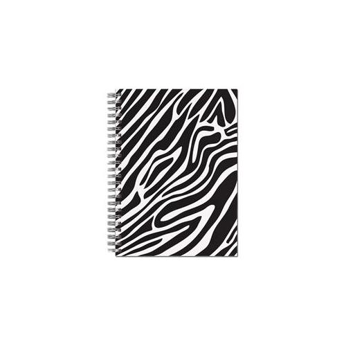 Great Papers 20104100 Black & White Zebra Spiral Notebook