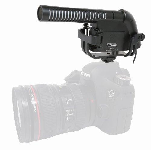 Panasonic Lumix DC-FZ80 Digital Camera External Microphone XM-40 Professional Video & Broadcast Condenser Microphone