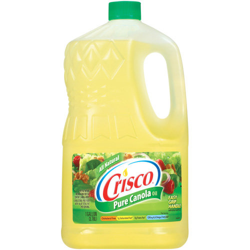 Crisco Pure All Natural Canola Oil, 1 gal