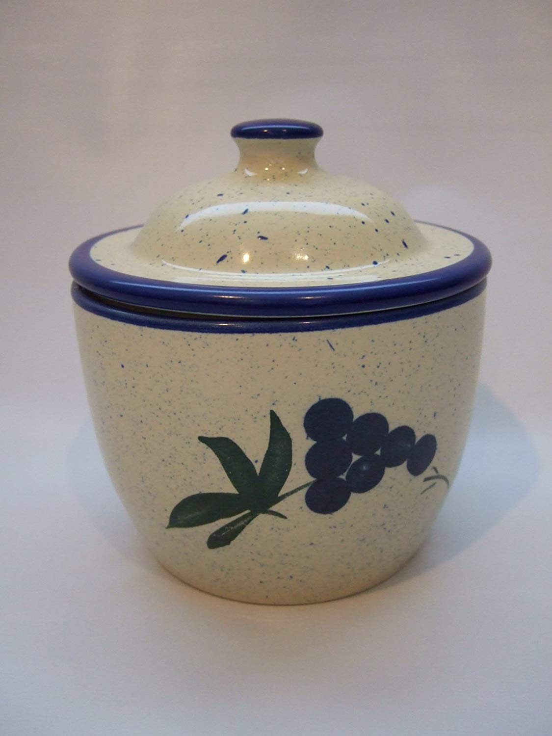 by Cooks Innovations Cooks Innovations Garlic Storage Jar blue /& yellow Grape