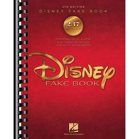 - The Disney Fake Book (Paperback)