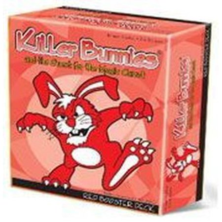 Playroom Entertainment Killer Bunnies Quest Red Booster Deck