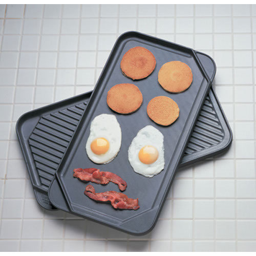 Chef's Design 20'' Reversible Grill Pan and Griddle