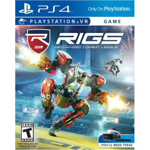 RIGS Mechanized Combat League VR, Sony, PlayStation 4, 711719505044