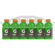 Gatorade Fierce Thirst Quencher Sports Drink, Green Apple, 12 oz Bottles, 12 Count