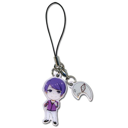 Cell Phone Charm - Tokyo Ghoul - New Shuu & Mask Anime Licensed ge17336 - Ghoul Mask