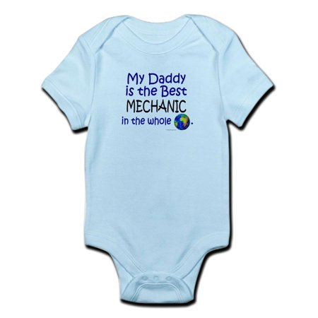 CafePress - Best Mechanic In The World (Daddy) Infant Bodysuit - Baby Light
