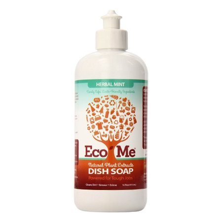 Eco me Dish Soap Herbal Mint, 16 (Eco Disc)