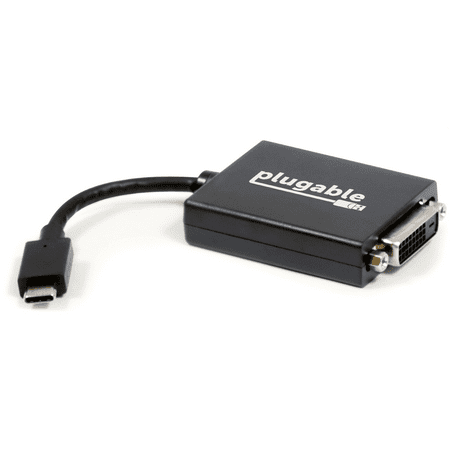 """Plugable """"Alt Mode"""" Monitor Adapter - USB-C to DVI for Windows, Mac, and Linux"""