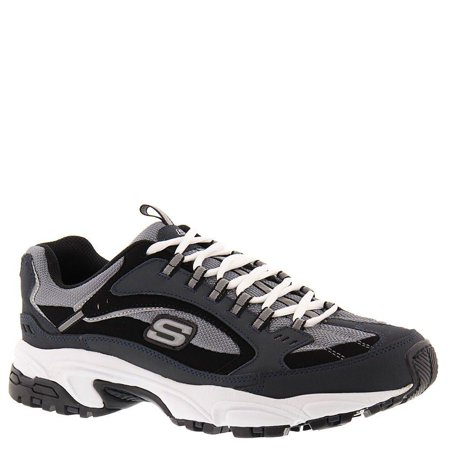 b5457678c099 Skechers - skechers sport stamina men s training 7 d(m) us navy-black -  Walmart.com