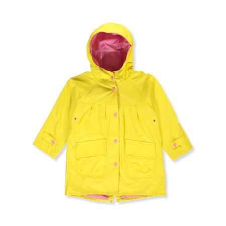 Wippette Girls' Raincoat - Yellow Jacket Superhero