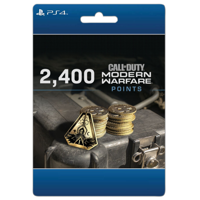 Call of Duty: Modern Warfare 2,400 Points, Activision, PlayStation [Digital Download]